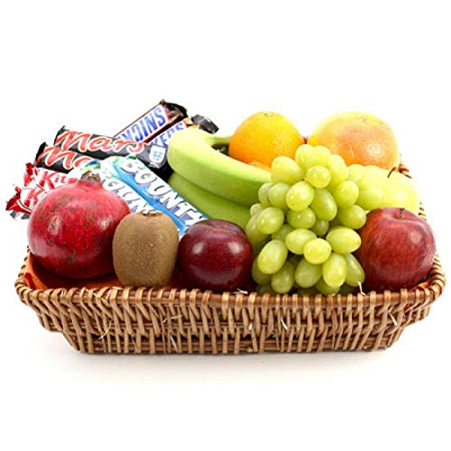 Bounty Fruit Basket - Fruit Gift Baskets and Gift Hampers with Next Day UK delivery with Personal Message Attached from Express4Fruits