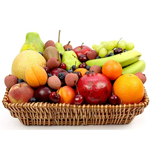 Cherry Berry Fruit Basket - Fruit Gift Baskets and Gift Hampers with Next Day UK delivery with Personal Message Attached from Express4Fruits