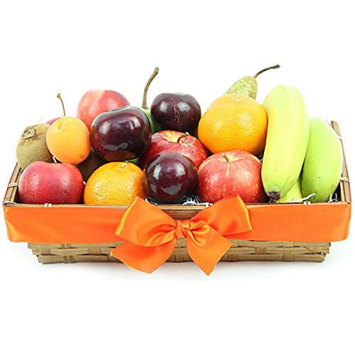 Classic Ripes Fruit Basket - Fruit Gift Baskets and Gift Hampers with Next Day UK delivery with Personal Message Attached from Express4Fruits