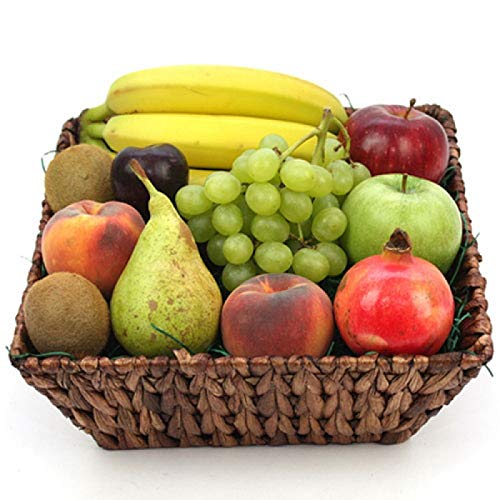 Fruit Lovers Fruit Basket - Fruit Gift Baskets and Gift Hampers with Next Day UK delivery with Personal Message Attached from Express4Fruits
