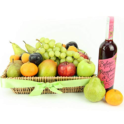 Fruit Splash Basket - Fruit Gift Baskets and Gift Hampers with Next Day UK delivery with Personal Message Attached from Express4Fruits