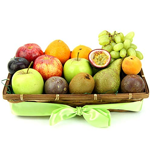 Fruit Zest Basket - Fruit Gift Baskets and Gift Hampers with Next Day UK delivery with Personal Message Attached from Express4Fruits