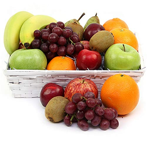 Get Well Fruit Basket - Fruit Gift Baskets and Gift Hampers with Next Day UK delivery with Personal Message Attached from Express4Fruits