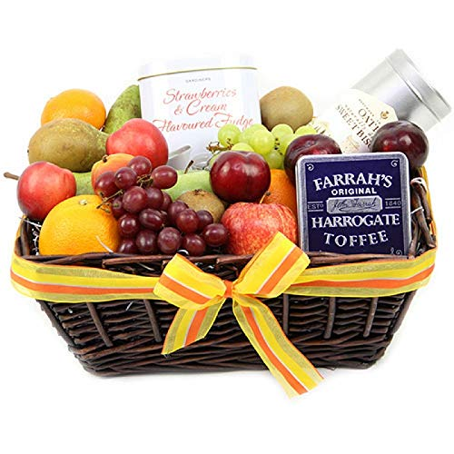 Glory Gourmet Fruit Basket - Fruit Gift Baskets and Gift Hampers with Next Day UK delivery from Express4Fruits