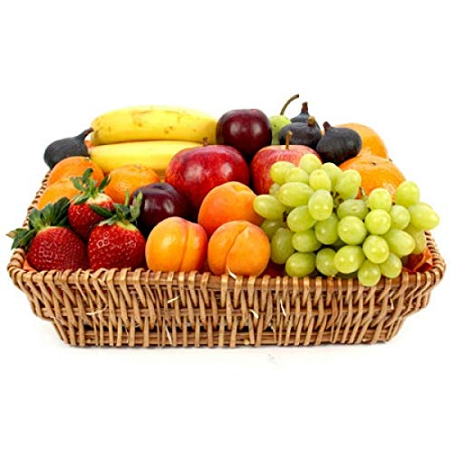 Healthy Living Fruit Basket - Fruit Gift Baskets and Gift Hampers with Next Day UK delivery with Personal Message Attached from Express4Fruits