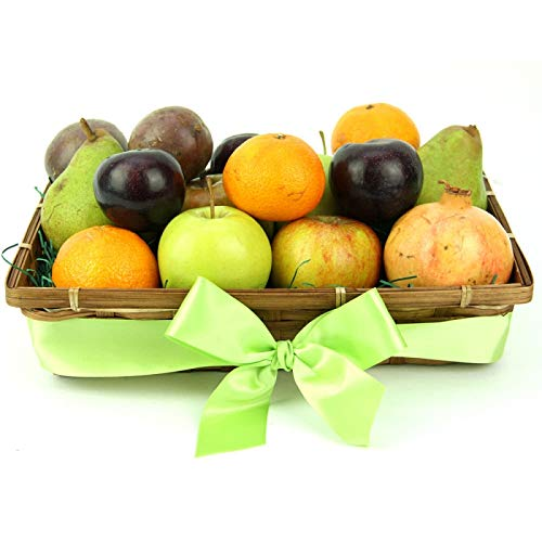 Just for You Fruit Basket - Fruit Gift Baskets and Gift Hampers with Next Day UK delivery with Personal Message Attached from Express4Fruits