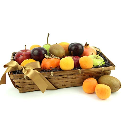 Nature's Galore Fruit Basket - Fruit Gift Baskets and Gift Hampers with Next Day UK delivery with Personal Message Attached from Express4Fruits