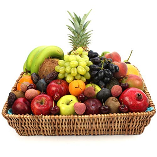 Premium Fruit Basket - Fruit Gift Baskets and Gift Hampers with Next Day UK delivery with Personal Message Attached from Express4Fruits