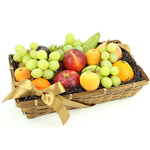 Season's Choice Fruit Basket - Fruit Gift Baskets and Gift Hampers with Next Day UK delivery with Personal Message Attached from Express4Fruits