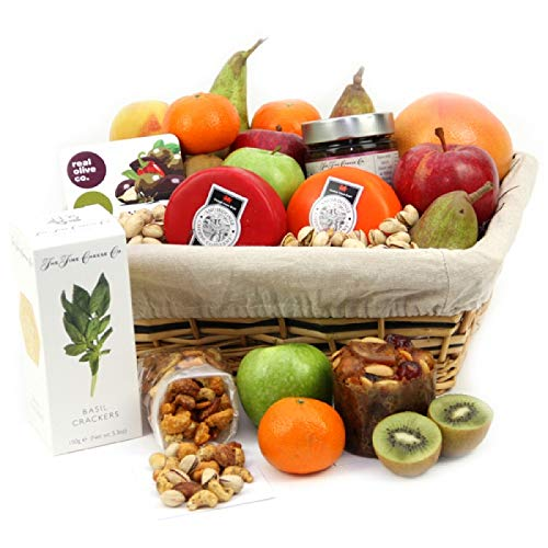 The Cheese Club - Fruit Gift Baskets and Gift Hampers with Next Day UK delivery with Personal Message Attached from Express4Fruits
