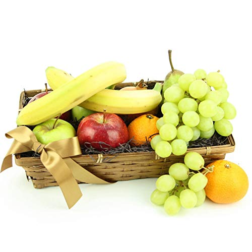 Tropical Bounty Fruit Basket - Fruit Gift Baskets and Gift Hampers with Next Day UK delivery with Personal Message Attached from Express4Fruits