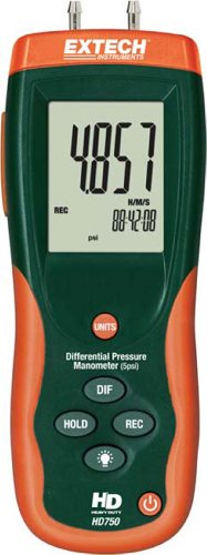 Extech HD750 5 PSI Manometer with Software from Extech