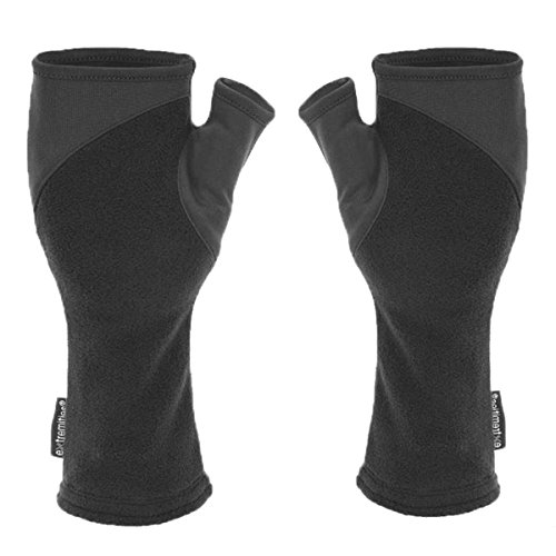 Extremites Unisex's Power Liner Wrist Gaiter Glove, Black, Small/Medium from Extremites
