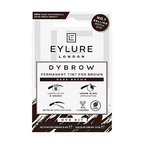 Eylure DYBROW Eyebrow Dye Kit, Dark Brown from Eylure