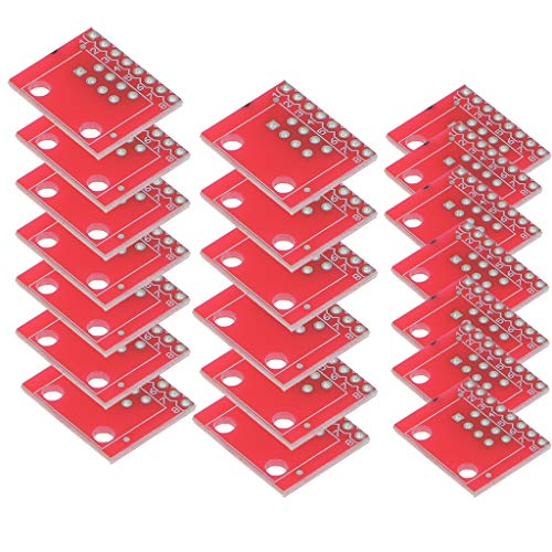 F Fityle 20Set RJ45 Connector 8P8C Breakout Board Kits for Ethernet Jacks from F Fityle