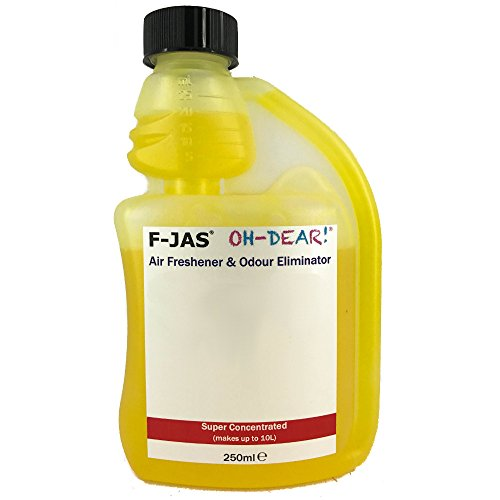 F-JAS Air Freshener & Odour Eliminator (Refill Kit, White Chocolate) from F-JAS