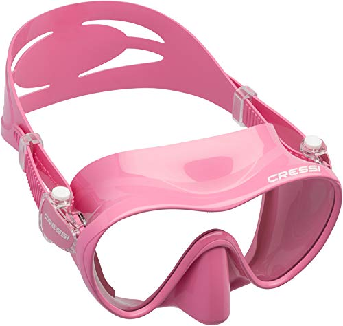 Cressi F1 Frameless Mask - Frameless Diving/Snorkeling Mask, Size L - S from Cressi