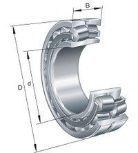 FAG 21309-E1-K Spherical Roller Bearing from FAG