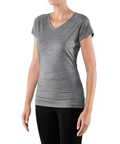 FALKE SW T-Shirt Women's T-Shirt - Grey-Heather, M from FALKE