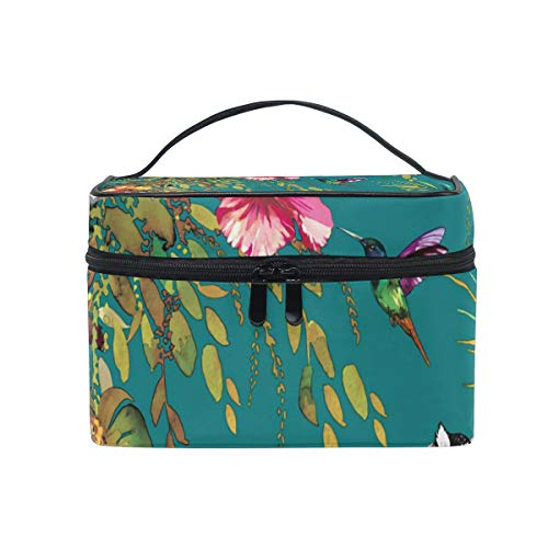 FANTAZIO make up pouch cheap Animal Lemur And Floral make up Organizer from FANTAZIO
