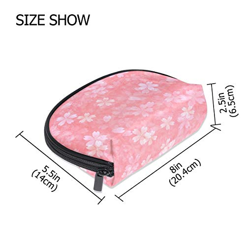 FANTAZIO make up zipper pouch Beautiful Cherry Blossom Handbag Organizer from FANTAZIO