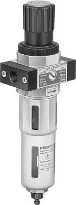 Festo 192389 Filter Regulator Unit, Model LFR-1/2-D-5M-O-DI-MAXI-A from FESTO