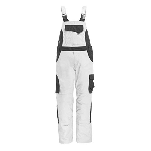 "FHB 130630-1012-44 Size 44 ""Eckhard"" Overall - White/Anthracite from FHB"