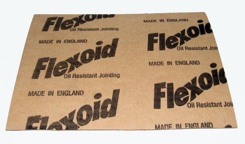 Flexoid Gasket Paper Set, 5 x A4 Sheets - Various Thicknesses 0.15mm-1.6mm from FLEXOID