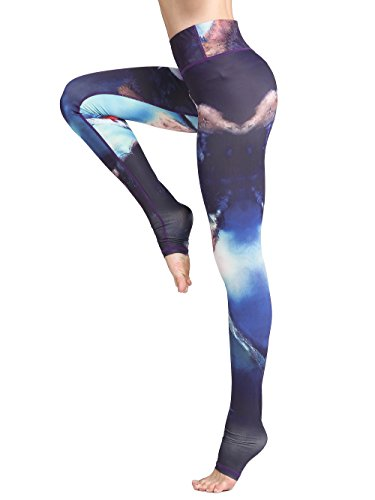 c1e09788db1b0 Sports & Outdoor Clothing Fly Year-uk Womens Classic Stretch Tight Print  Ankle Length Yoga Leggings Knitwear