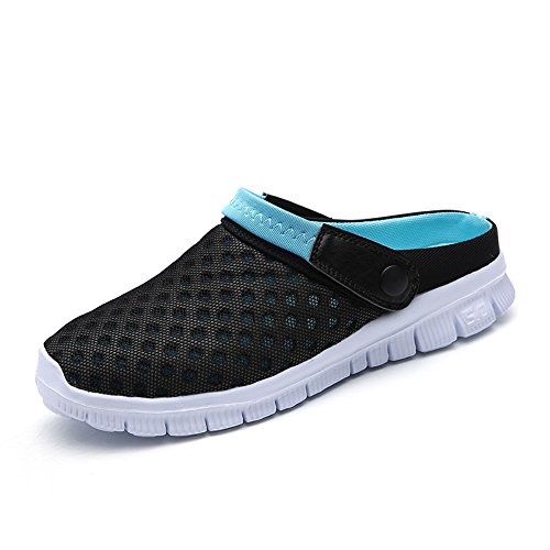 FOBEY Men-Women Slip-On Breathable Mesh Shoes Couples Sport Sandals Flip  Flop from