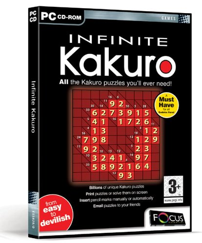 Infinite Kakuro from FOCUS MULTIMEDIA