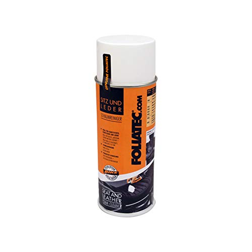 Foliatec F2400 Seat & Leather Color Spray-Foam Cleaner 1x400ml from Foliatec