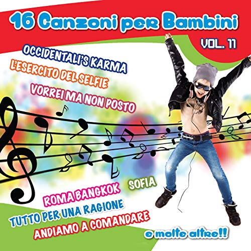 Canzoni Per Bambini Vol. 11 / Various from FONOLA DISCHI