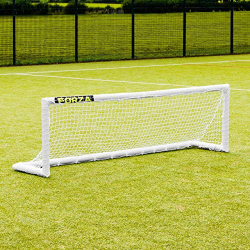 FORZA PVC Mini Hockey Goal – 8ft x 2.5ft Weatherproof, Lightweight And Freestanding Hockey Goal For Training Use [Net World Sports] from FORZA