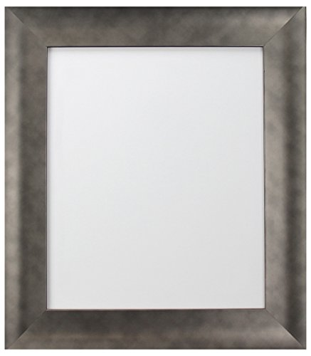 FRAMES BY POST Hygge Picture Photo Frame, Plastic Glass, Pewter, 50 x 23 cm from FRAMES BY POST