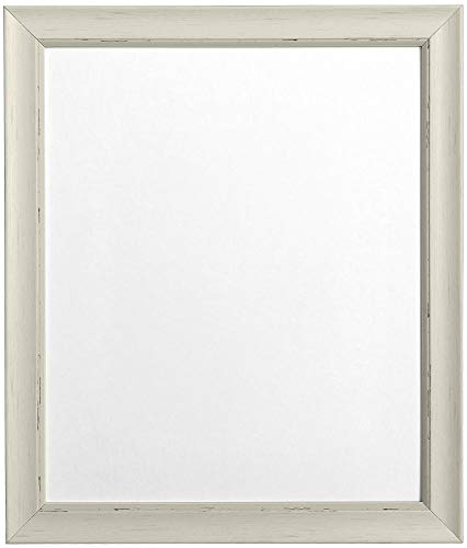 "FRAMES BY POST Distressed Pale Grey Picture Photo Frame 24""x20"" (Plastic Glass) from FRAMES BY POST"