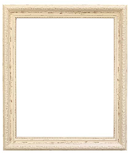 "FRAMES BY POST AP-3025 Distressed Cream Picture Photo Frame 9""x7"" from FRAMES BY POST"