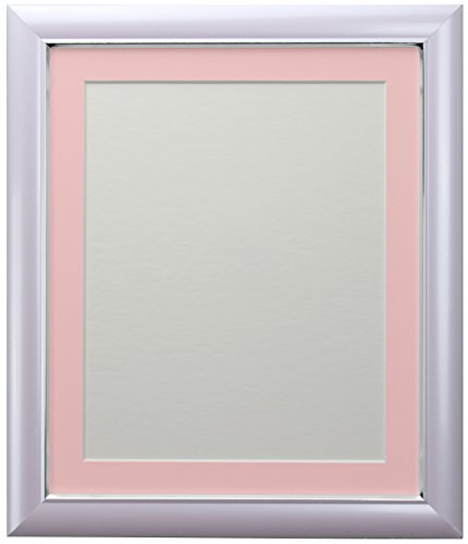 FRAMES BY POST Soda Picture Photo Frame, Plastic, Lilac with Pink Mount, 30 x 24 Image Size 24 x 20 Inch from FRAMES BY POST
