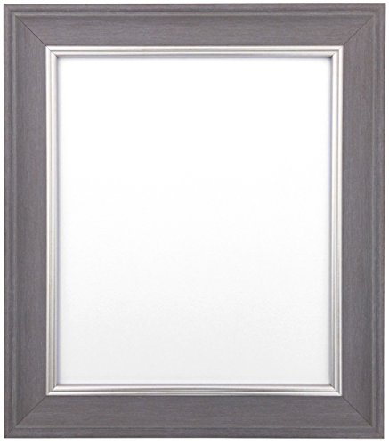 FRAMES BY POST Scandi Slate Grey Picture Photo Frame 30 x 20 inch (Plastic Glass) from FRAMES BY POST
