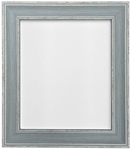 FRAMES BY POST Scandi Vintage Distressed Blue Picture Photo Frame 60 x 80 cm from FRAMES BY POST