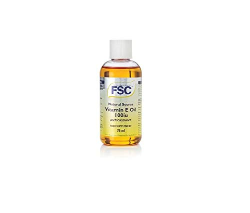 FSC 100iu Vitamin E Oil Liquid 75ml from FSC