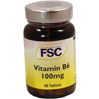 FSC Vitamin B6 100mg 60 Tablets from FSC