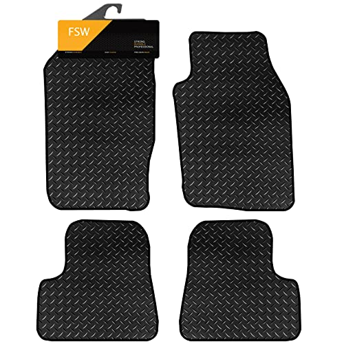 FSW 206 Tailored 3MM Waterproof Rubber Heavy Duty Car Floor Mats from FSW