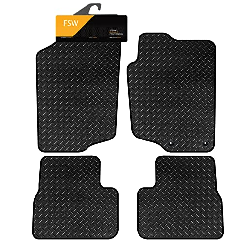 FSW 207 Tailored 3MM Waterproof Rubber Heavy Duty Car Floor Mats from FSW