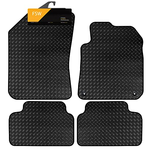 FSW 308 2014-On Tailored 3MM Waterproof Rubber Heavy Duty Car Floor Mats from FSW