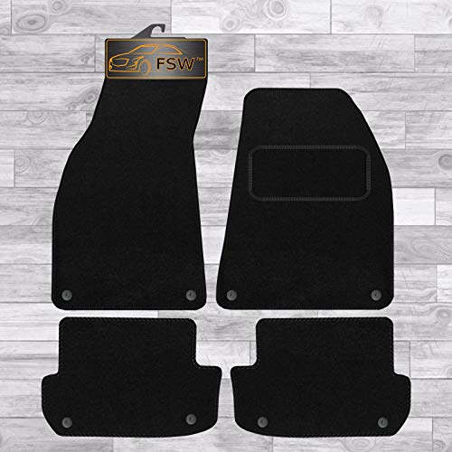 FSW A4 Cabriolet 2005 On Tailored Carpet Car Floor Mats 4Pc 8 Clip from FSW