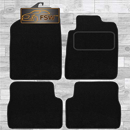 FSW Celica 1999-2006 Tailored Carpet Car Floor Mats Black from FSW