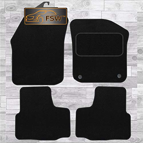FSW Citigo 2012-On Tailored Carpet Car Floor Mats Black from FSW