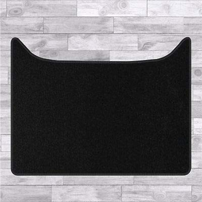 FSW - Tailored Truck Mat - XF 95 1997-ON Engine Cover (Automatic) - Black Carpet | Anti Slip Truck Mat, Fitted With Granulated Backing, Edged With Black Cloth Binding - 1Pc Mat Only from FSW