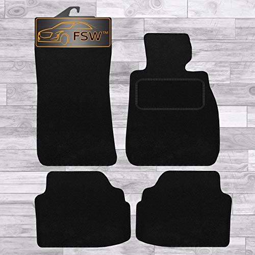 FSW E92 3 Series Coupe 2006-2013 Tailored Carpet Car Floor Mats Black from FSW